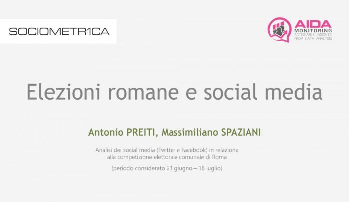 Elezioni romane e social media